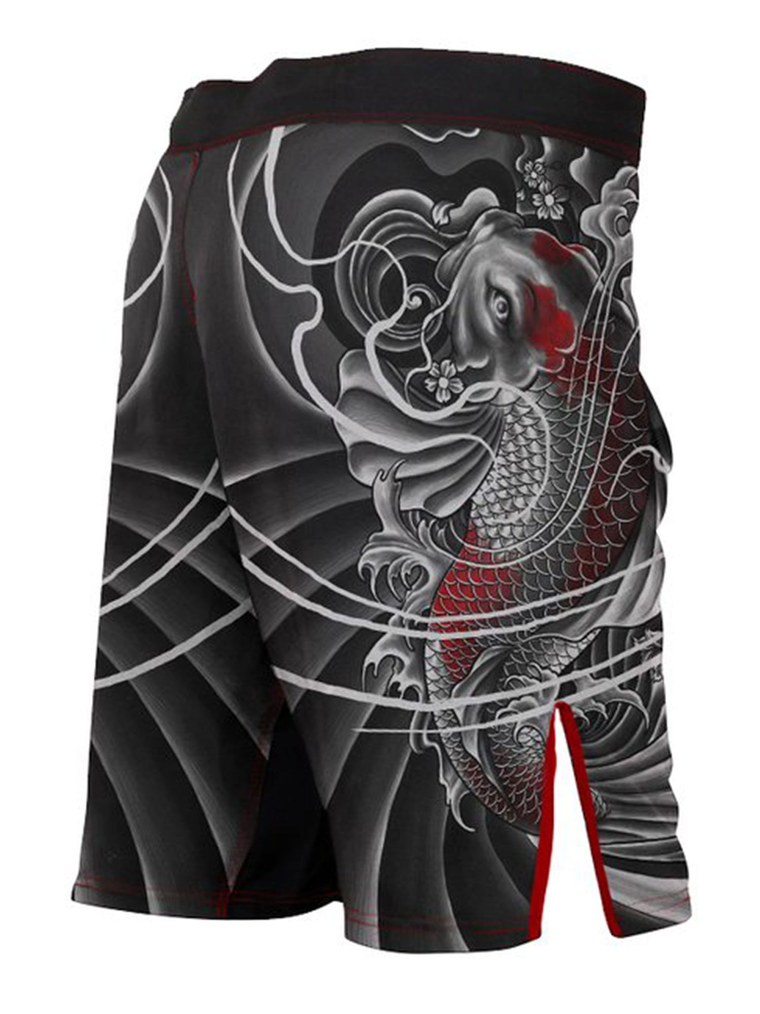 Raven Fightwear Men/'s Irezumi 2.0 Rash Guard MMA BJJ Black